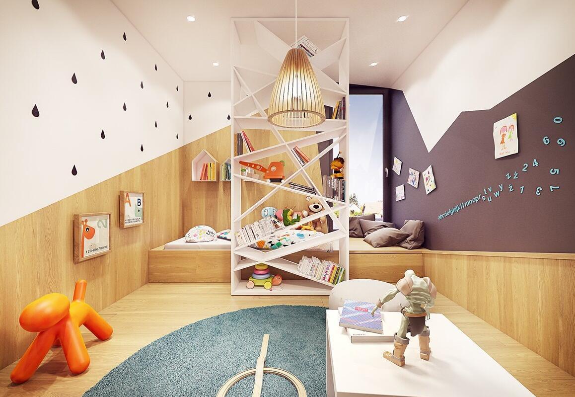 70㎡ 两室一厅 现代风格