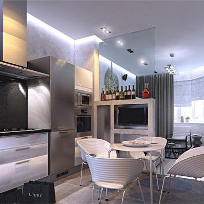 96.00㎡ 二室二厅一厨一卫 现代