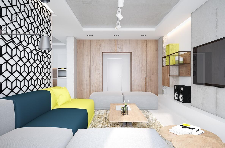 188㎡ 四室二厅 现代风格