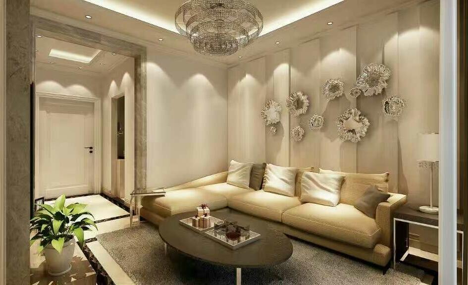 70㎡ 二室一厅 现代风格