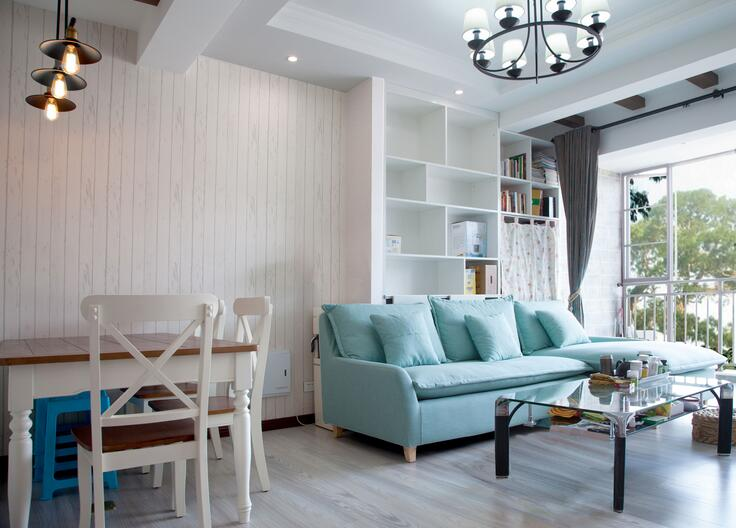 76㎡ 2室1厅 地中海风格