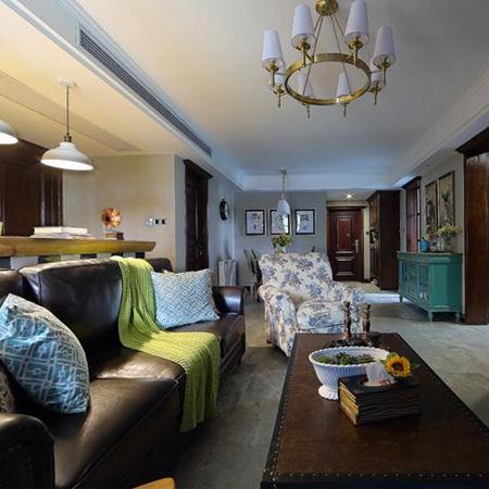 110.00㎡ 3室2厅1厨1卫 地中海