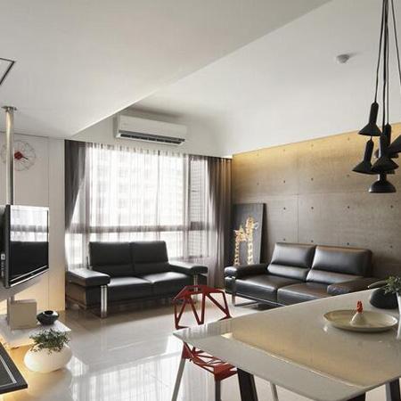 88.00㎡ 2室2厅1厨1卫 现代