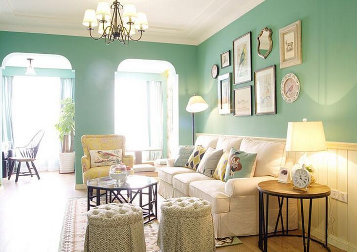 86㎡ 三室二厅 美式风格