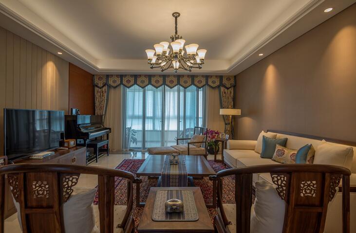 179㎡ 5室2厅 中式风格