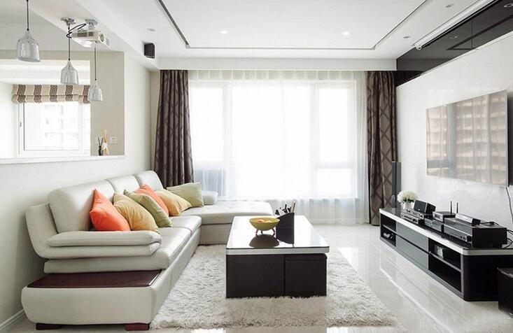 125㎡ 3室2厅 现代风格
