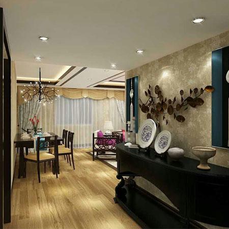 110.00㎡ 三室一厅一厨一卫 东南亚