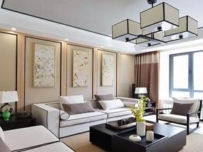 88㎡ 二室一厅 新中式