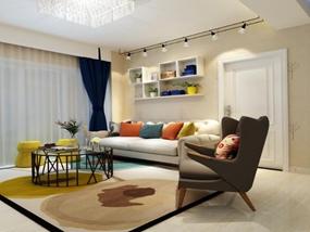 82㎡ 2室1厅 现代风格