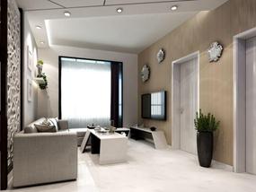100㎡ 三室一厅 现代风格