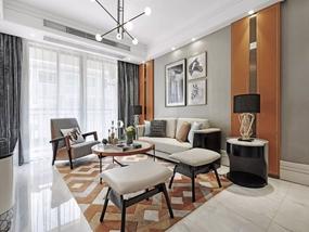 120㎡ 4室2厅 现代风格