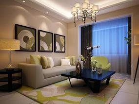 110㎡ 3室1厅 现代风格