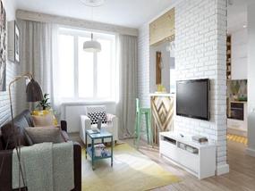 151㎡ 3室2厅 北欧风格