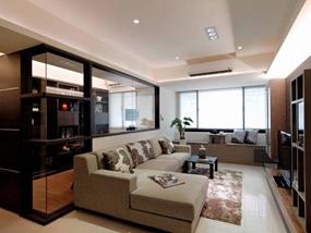 113㎡ 3室2厅 现代简约风格