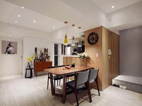 58㎡ 三室一厅 现代风格