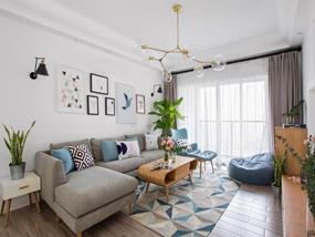 40㎡ 二室一厅 现代风格