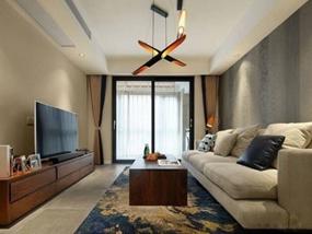 116㎡ 三室二厅 现代风格