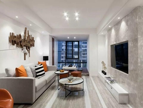 81㎡ 三室一厅 现代风格