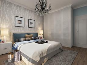 88㎡ 二室一厅 现代风格