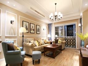 82㎡ 三室一厅 美式风格