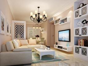 80㎡ 三室一厅 现代风格