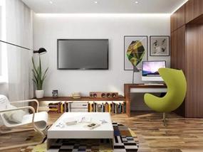 70㎡ 一室一厅 现代简约
