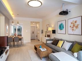 110㎡ 三室一厅 现代风格
