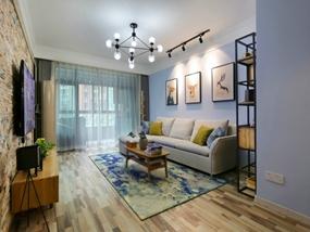89㎡ 二室二厅 现代风格