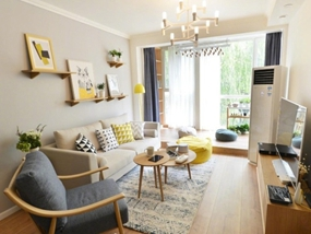 90㎡ 一室一厅 简约风格