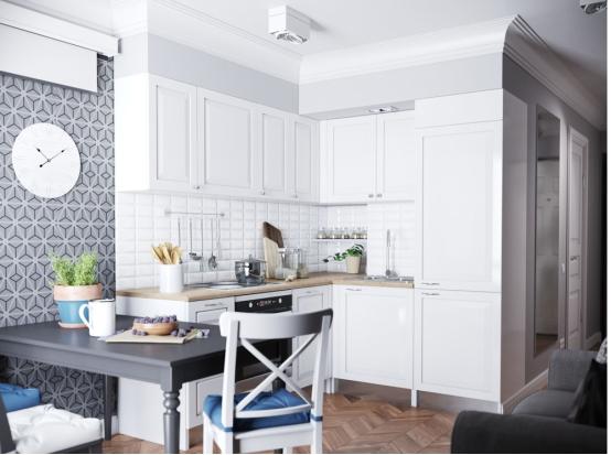 58.00㎡ 一室一厅一厨一卫 现代
