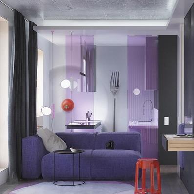 80.00㎡ 二室一厅一厨一卫 现代