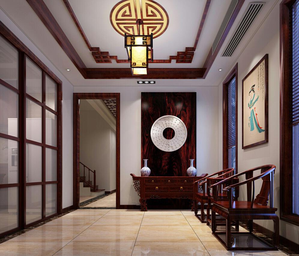 135.00㎡ 3室2厅2卫 新中式