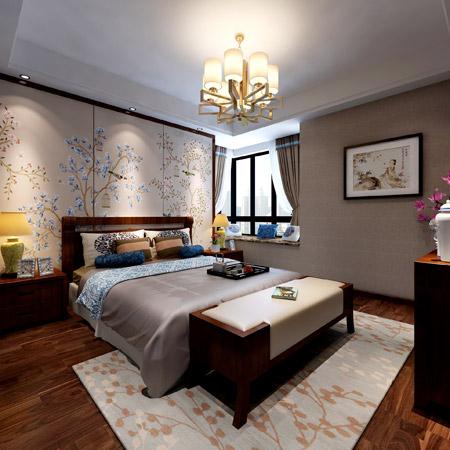 140.00㎡ 3室2厅2卫 新中式