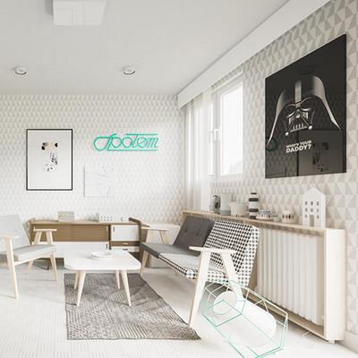 設計師尹松:裝89㎡新房僅花6萬,火